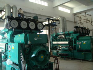 2 megawatt (mw) cummins gas generators at shahtaj textile limited