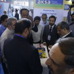 ESL Staff Entertain Customers in Pak Water and Energy Expo 2018