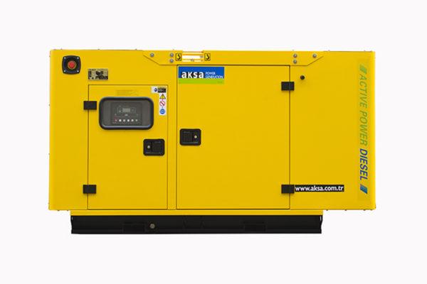 aksa diesel generator apd 20a canopy
