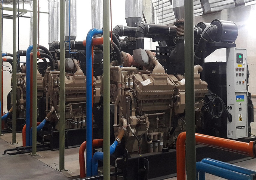diesel generators in ats synthetic pakistan